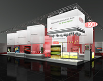 DuPont Booth Visualization for BBCO MesseManufaktur