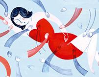 """Illustrated book - """"El deseo está en otro lado"""""""