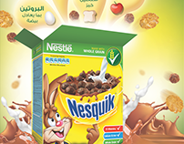 Nestle EGYPT/ Nesquik CPW 4 Benefites Poster.