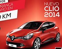 Campaña concesionario Sanautos - Renault