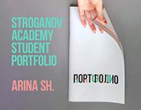 my Stroganov Academy student portfolio