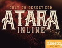 Atara Line - Free Font