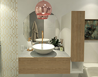 2019   Diseño Baño // Bathroom Design