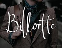 Billortte - Signature Font