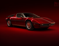 Maserati Bora - Red on Red: Full CGI