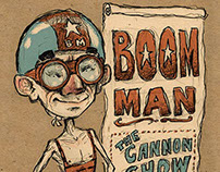 BOOM MAN (the cannon show)