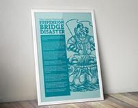 Suspension Bridge Disaster poster