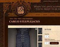 LastWear, Identity & Website