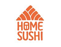 HOME SUSHI identity
