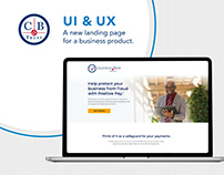 POSITIVE PAY LANDING PAGE