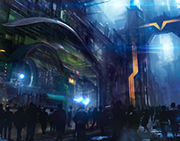 Town - concept art