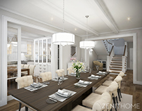 Villa in classic British style