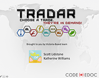 TRADAR 2014 Canadian Open Data Experience Submission