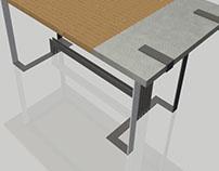 Starship :: desk/worktable