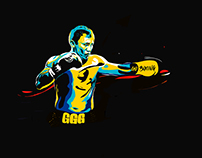 GGG Boxing. Art by Da Shurry