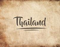 Southeast Asia Postcard Design