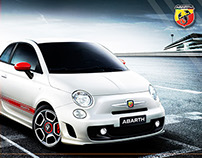 Abarth Facebook digital campaign