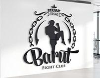 Barut Fight Club Logo Design