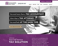 Alexander Law Firm Website