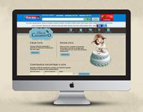 Lista de Casamento Casas Bahia | Website - Interface