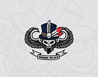 US ARMY Baron Samedi Shirt Design