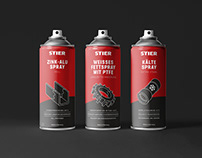 STIER industrial - CD & Packaging Design