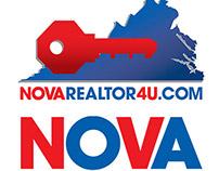 NOVAREALTOR Logo Design