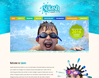 Static Website for Splash Activity Center
