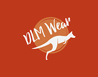 Creación de marca e identidad corporativa para DLM Wear