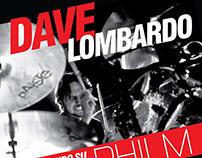 Dave Lombardo (ex-Slayer) & Philm Concert (2014)