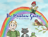 Illustrations for The Rainbow Gnome book