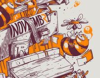 Agence ruche / Agence Novembre