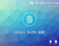Local Auth ANE
