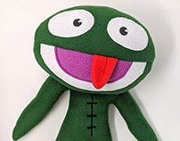 Clyde Frog Plush