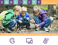 Curiosity - A website for finding classes for kids