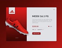 Daily UI: Adidas Product Page Redesign