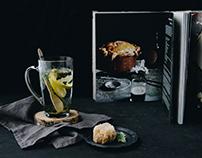 Dark mood glass photography for GLASMARK