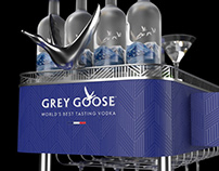 Grey Goose trolley