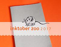 Inktober Zoo 2017