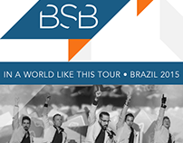 In A World Like This Tour • Brazil 2015 [Tour guide]