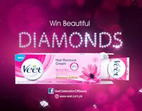 Veet Diamond Campaign 2015