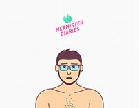 Mermister Diaries // GIF Journal