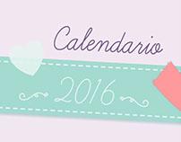 Calendario de Escritorio 2016