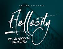 Hellocity[Free Font]