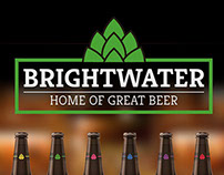 Brightwater Brewery Rebrand