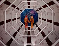 2001: A Space Odyssey + Fight Club