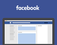 Free PSD Facebook Fan Page Template