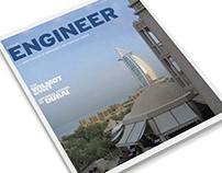 Engineer Magazine Publication Design