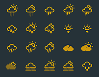 Weather Icon Set (FREE DOWNLOAD)