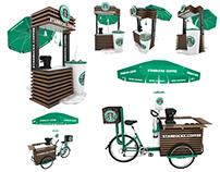 Starbucks Kiosk , Trike